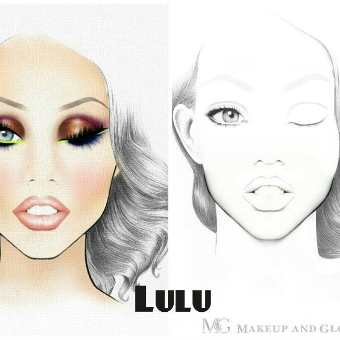 Designed by the amazing charlie tredway famous for his work with london makeup brand illamsqua are our own inidually and also blank mac face charts printable pinterest rh