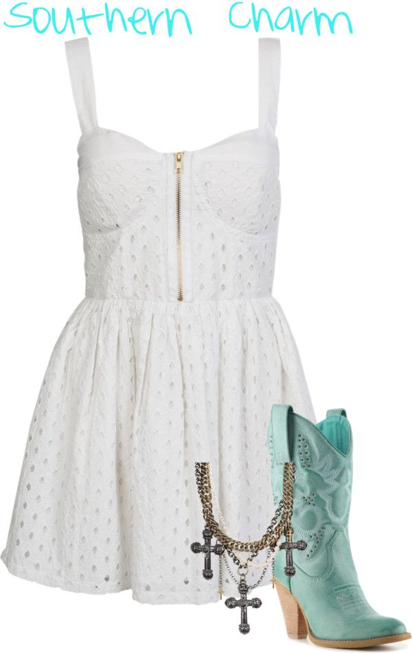 """""""Southern Charm"""" by wendycrummie on Polyvore"""