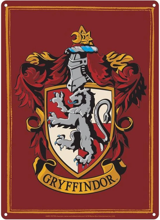 Harry Potter Gryffindor Crest Small Tin Sign Wallpaper Harry Potter Imagens Harry Potter Harry Potter Itens