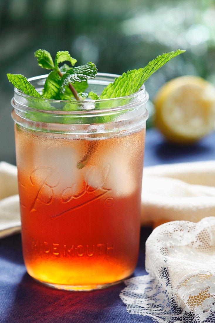 Erfrischender Eistee mit Granatapfel #lemonade