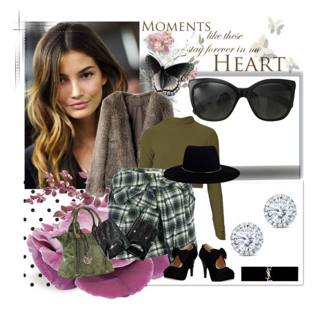 """""""Autumn lady Look//*"""" by leonormoral ❤ liked on Polyvore featuring Chanel, Kobelli, Yves Saint Laurent, Faith Connexion and Zimmermann"""