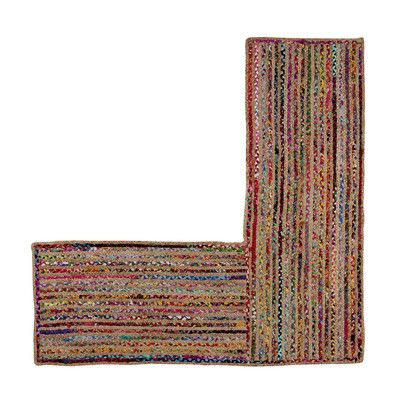 "Better Trends Astoria Area Rug Rug Size: L-Shaped 24"" X 68"" X 68"""