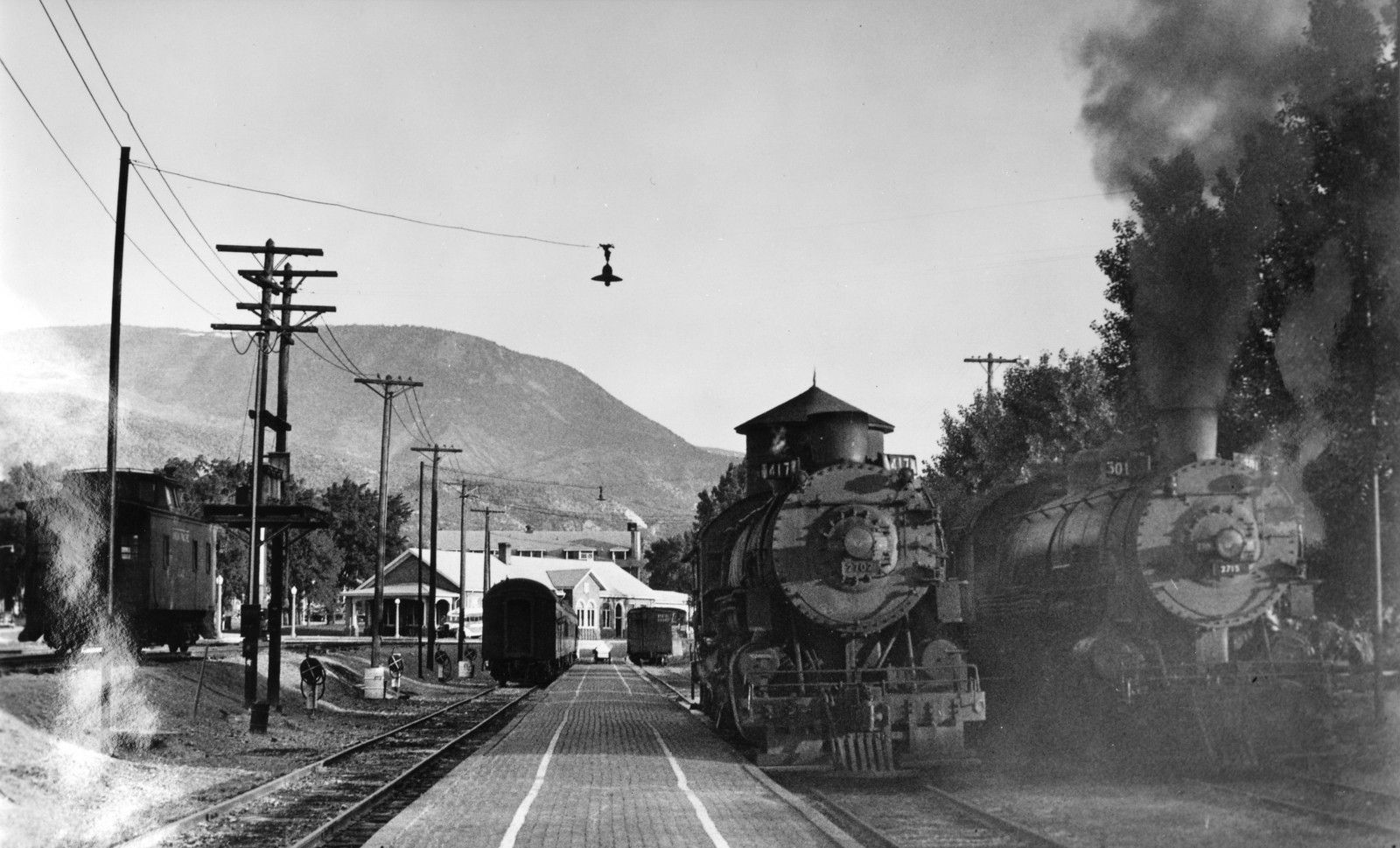 UP Cedar City Storage Tracks. (Union Pacific Historical Collection)