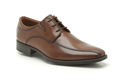 Mens Formal Shoes in Brown Leather