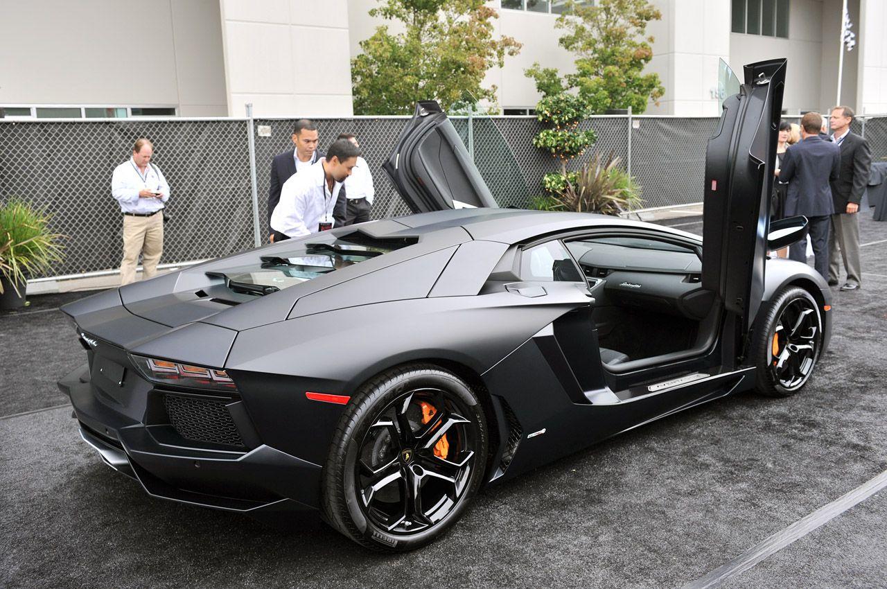 Lamborghini Aventador Preta   Pesquisa Google