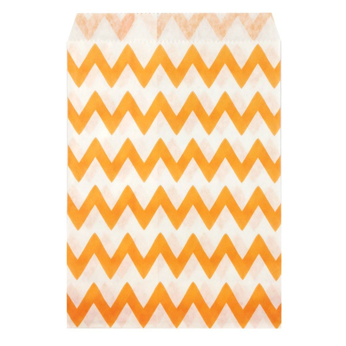 Wrapables Chevron Favor Bags, Orange (set of 25) ** Details can be found by clicking on the image.