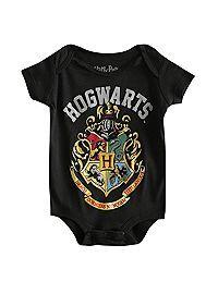 b0a8acb4d04f HOTTOPIC.COM - Harry Potter Hogwards Crest Baby Bodysuit