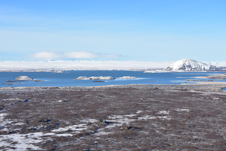 Vistas del lago Mývatn