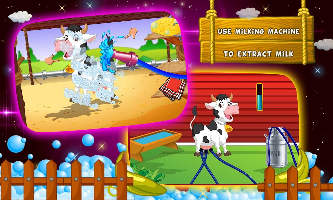 Farm Milk Butter Factory kids Maker Game kidsgames