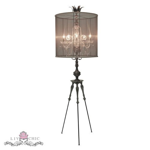 Angele French Metal Gl Chandelier Style Floor Lamp We Are Pleased To Offer The Inspired