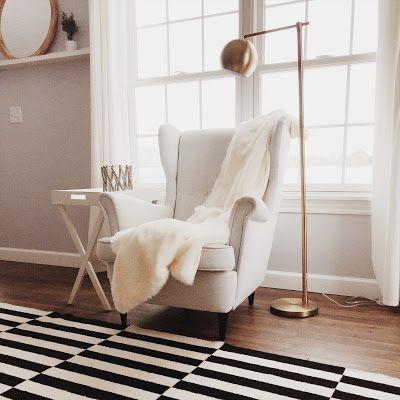 IKEA Stockholm Rug & Chair #TargetStyle Instagram