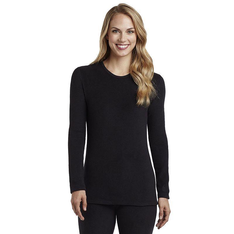 Plus Size Cuddl Duds Fleecewear with Stretch Crewneck Top, Women's, Size: