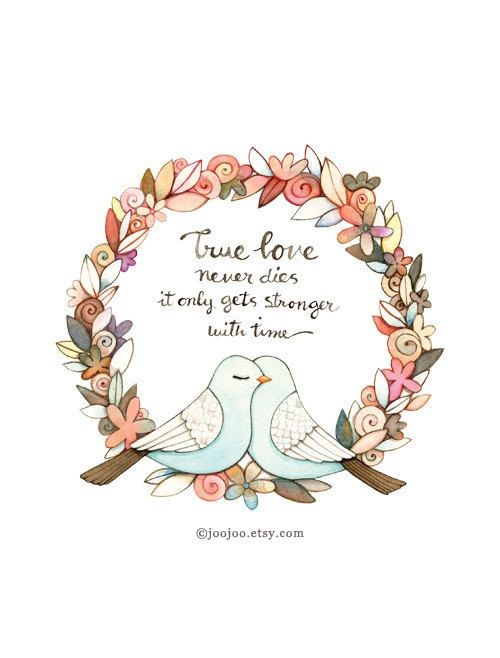 True Love Quote Quote Print Unique Wedding Gift By Joojoo On Etsy, 25.00