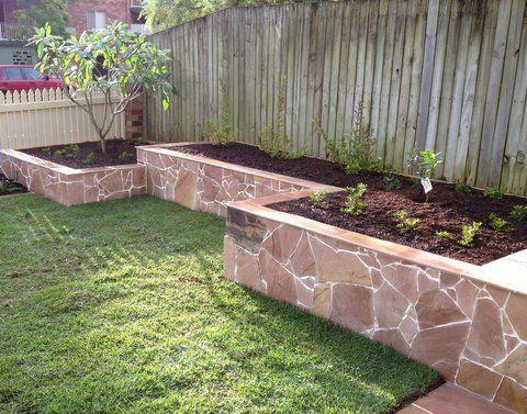 Retaining Wall Garden josaelcom
