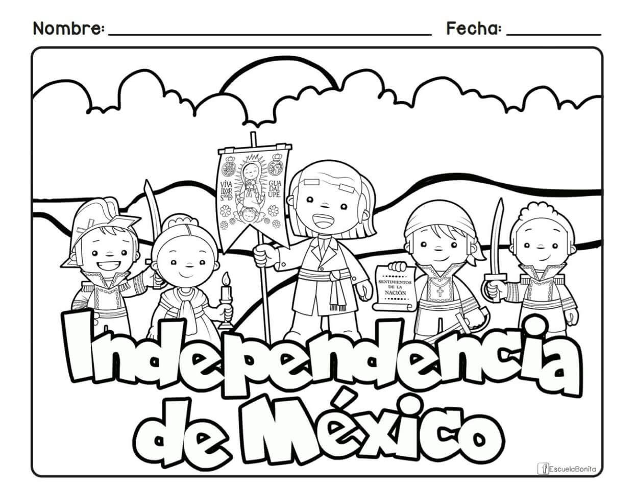 Independencia Manualidades 15 De Septiembre Para Ninos Septiembre Preescolar Manualidades 15 De Septiembre Preescolar