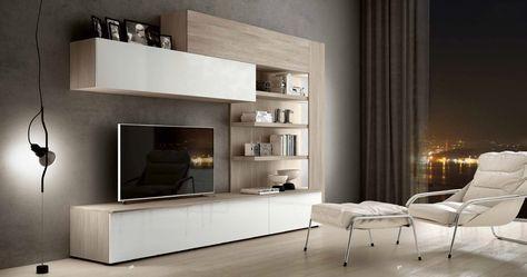 Parete attrezzata porta tv soggiorno Athos 24 | living | Pinterest ...