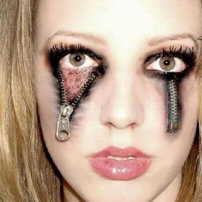 eeek hard to look at with images  halloween eye makeup