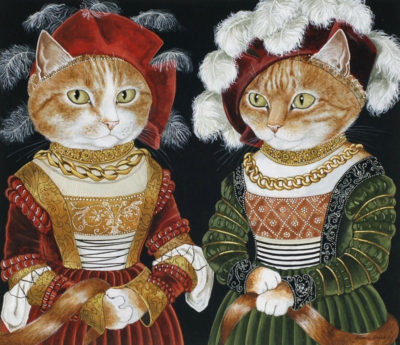 картинки кот в театре легки для