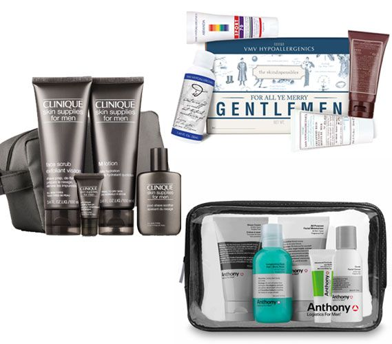 25 Grooming Gifts for Men: Does your guy travel a lot? Then he'll love these holiday picks from Anthony Logistics, VMH Hypoallergenics and Clinique. #Christmas #forHim