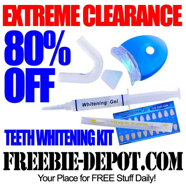 Extreme clearance prosmile at home teeth whitening kit with led extreme clearance prosmile at home teeth whitening kit with led light 80 fandeluxe Gallery