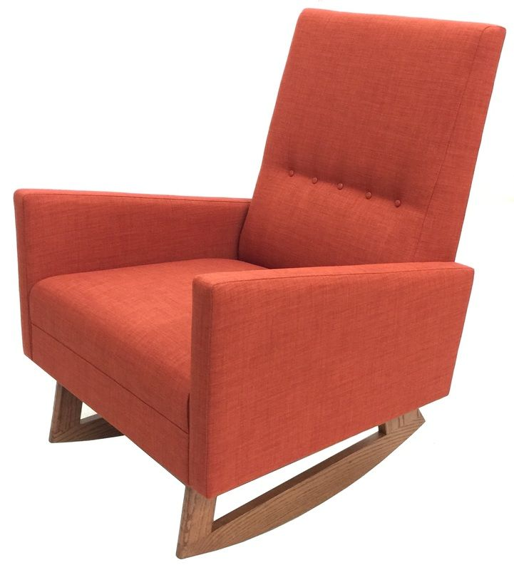 Hand Crafted By Us Atomic Chair Company The Stella Rocker