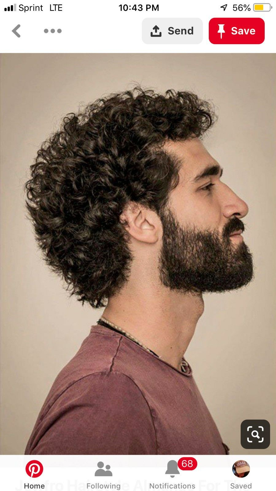 pin by fa hayek on hair in 2019   curly hair men, curly hair