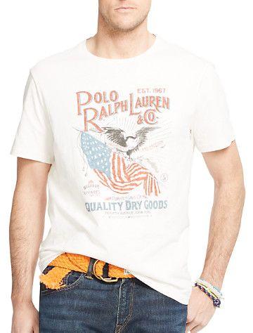 Polo Ralph Lauren® USA Flag & Eagle Tee