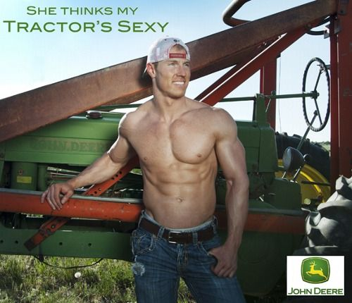 Okay, yall. Im running out of hot guys on tractors