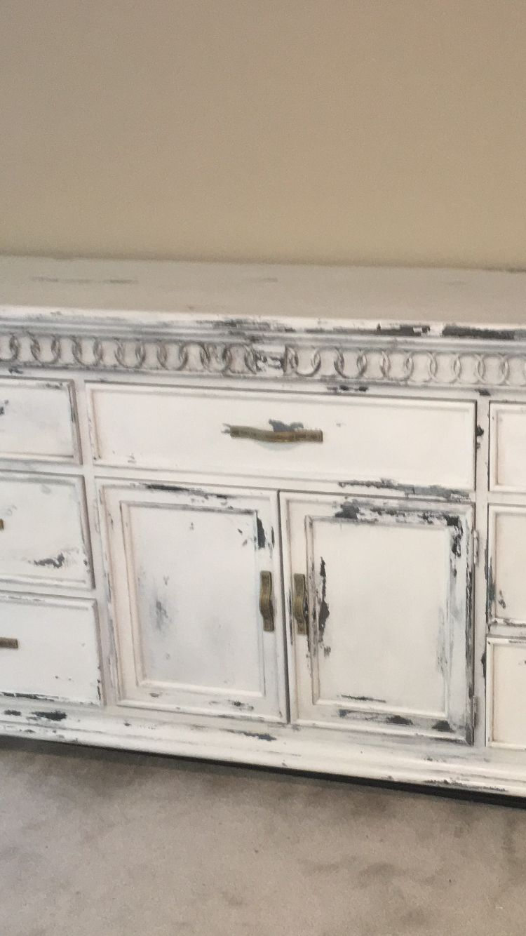 Charcoal Chalk Paint Bathroom Vanity