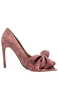 a3ecd45e39c Jeffrey Campbell Grandame Heels in Rose Suede