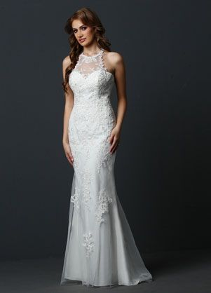 Beautiful and simple informal dress for your wedding! Smaller budget? We can help! #AuroraBridal