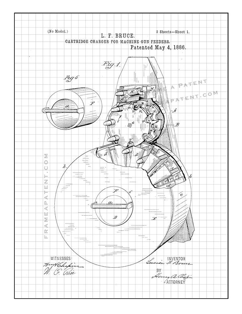 Pin On Gun Patent Prints