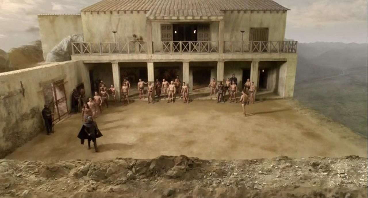 The Ludus Was A School For Training Gladiators To Fight
