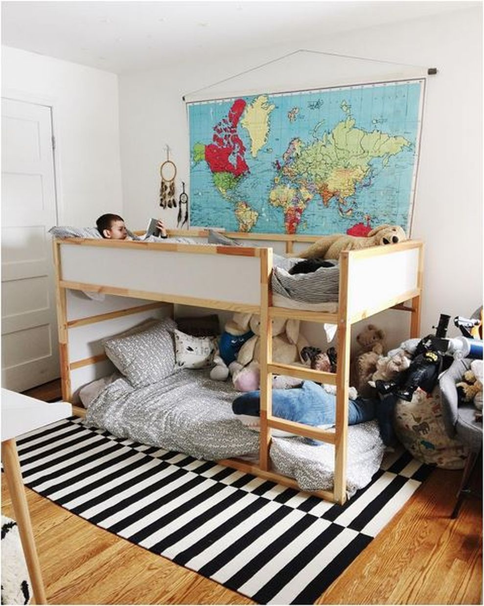 32 Cool Ikea Kura Beds Ideas For Your Kids Rooms (con