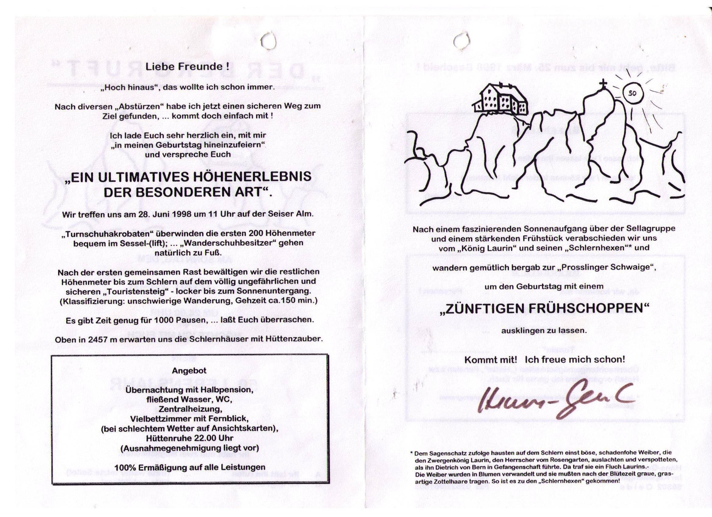 einladung zum 50 geburtstag bayrisch | einladungen geburtstag, Einladung
