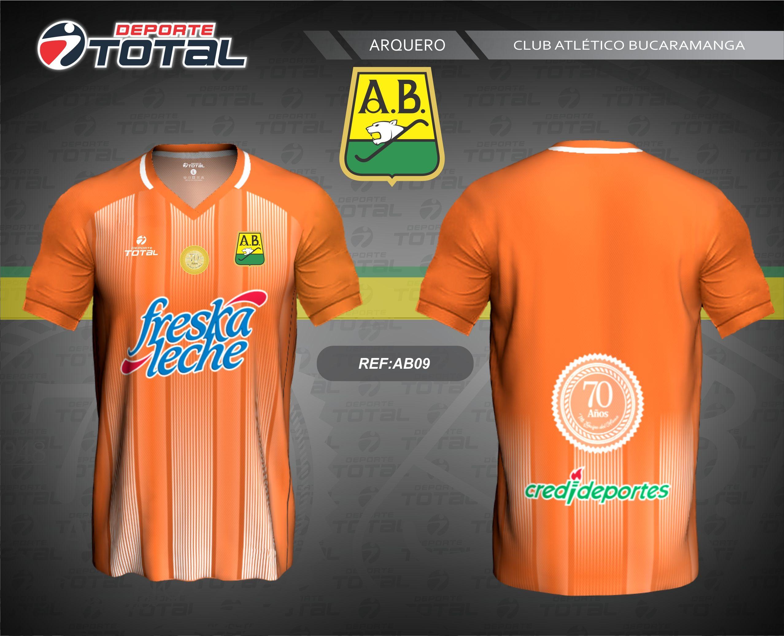 Camiseta de Arquero - deporte total-atletico bucaramanga- 2018-camiseta -uniforme- 9b7e9b01f9dcd