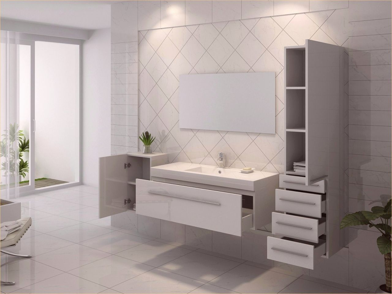 70 Salle De Bain 3d Ikea Contemporary Bathroom Vanity Small Space Bathroom Bathroom Accessories Luxury