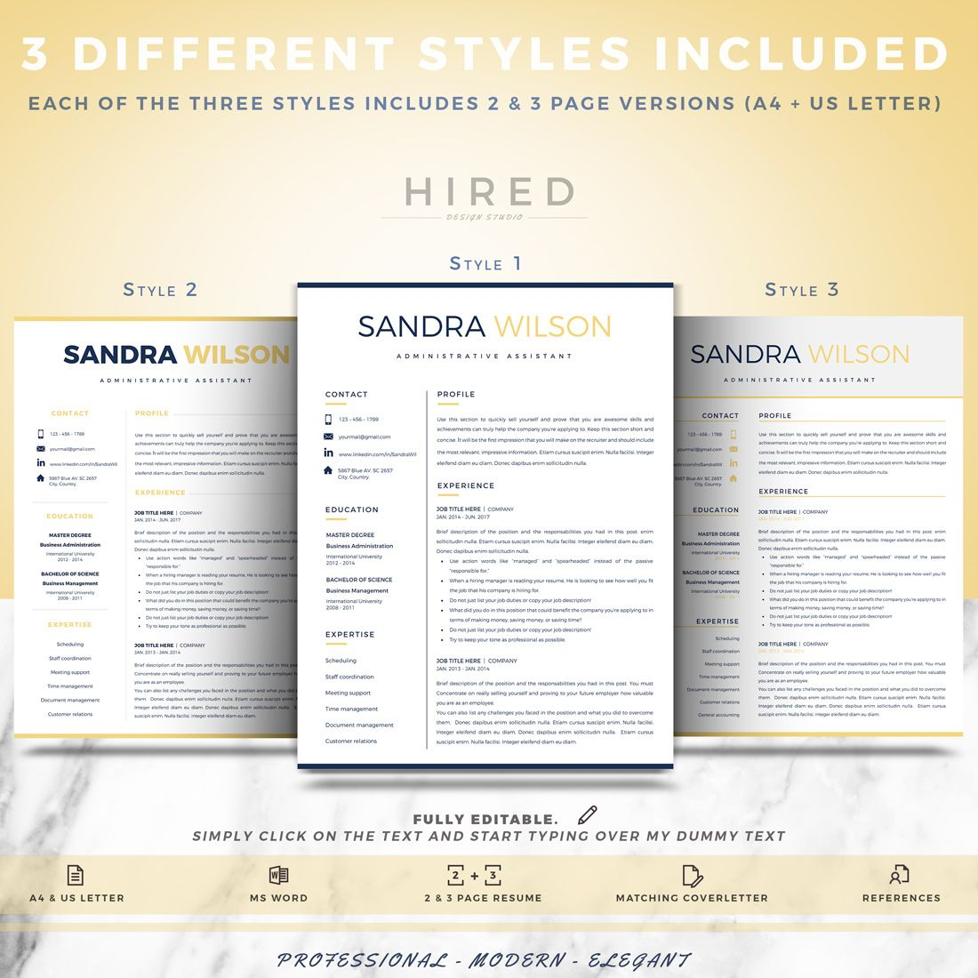 Administrative assistant resume professional resume