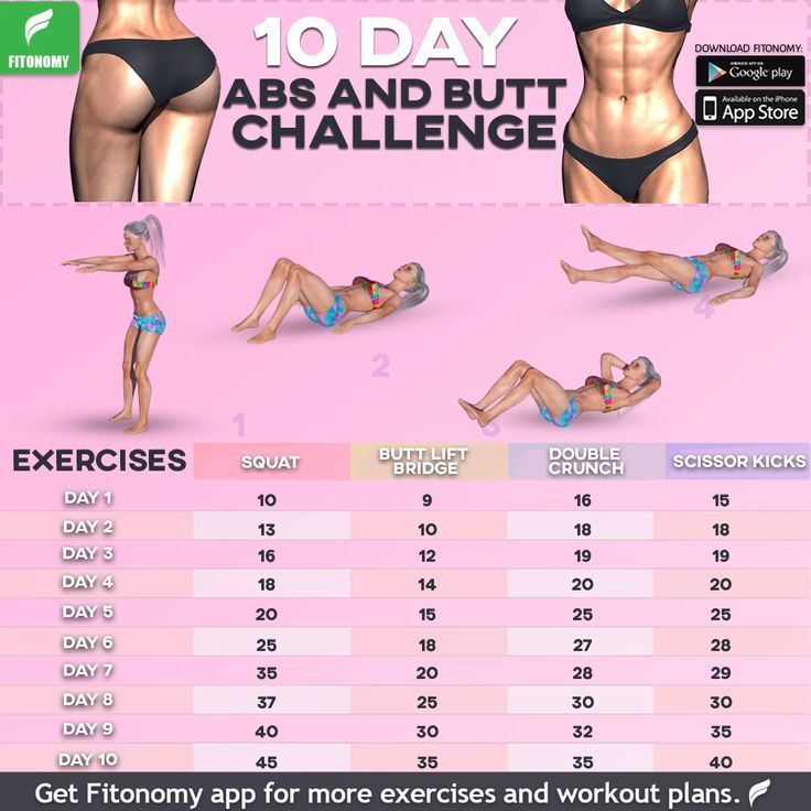 10 Tage Abs & Butt Challenge #workoutchallenge