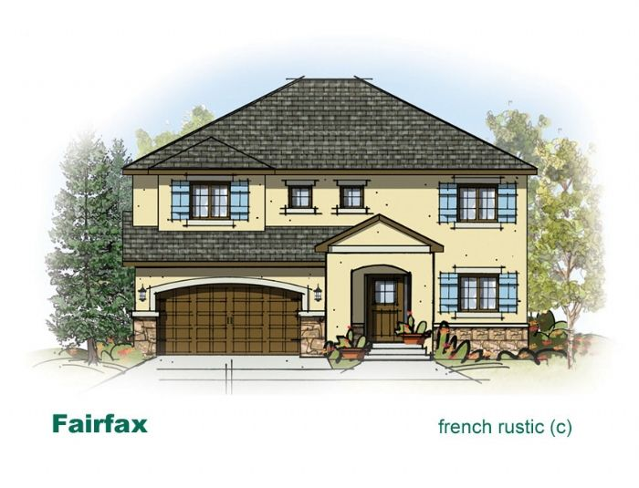 French Rustic floorplan from http://www.mcarthurhomes.com