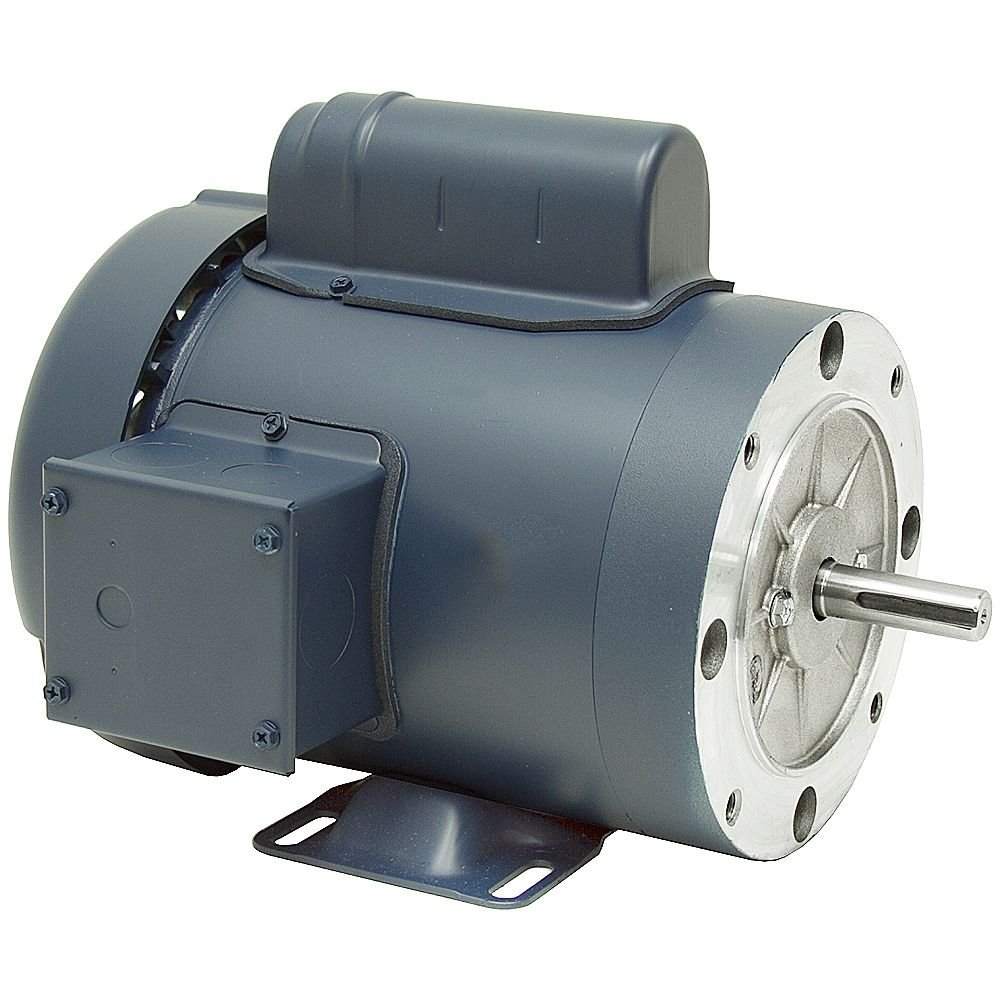 1/3 HP 1800 RPM 115/230 Volt AC 56C TEFC Leeson Motor