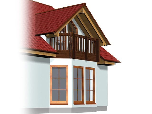 French Doors Balcony Dormer Roof Google Search Houses