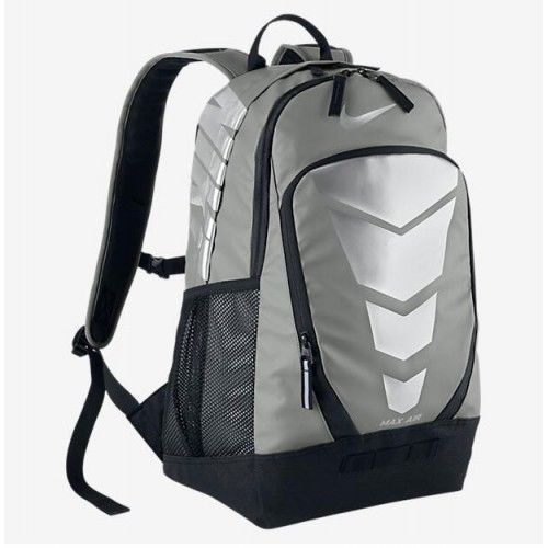 2770c2fc18ef ... Bags and Backpacks 163537 Nwt Nike Air Max Vapor Energy Grey Silver  Backpack Laptop Bag School ...