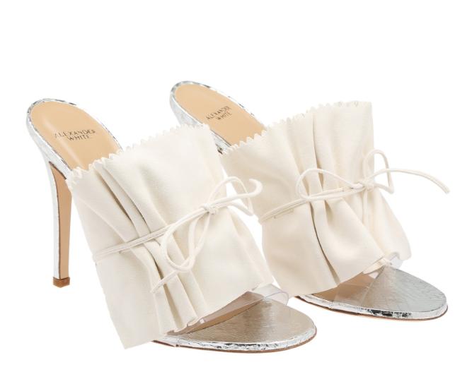 Alexander White ELOISA creates chic and elegant shoes that