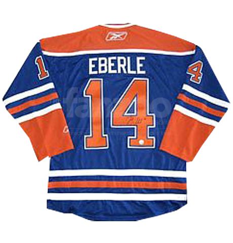 sports shoes 37844 e147d Jordan Eberle Autographed Jersey   Signed NHL Jerseys ...