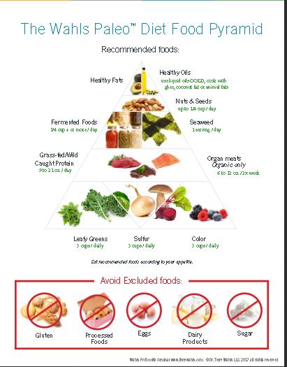 wahls paleo diet food pyramid