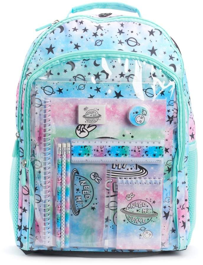 66e2f35cc3c6 Kids Galaxy Backpack & School Accessories Set in 2019 | Products ...