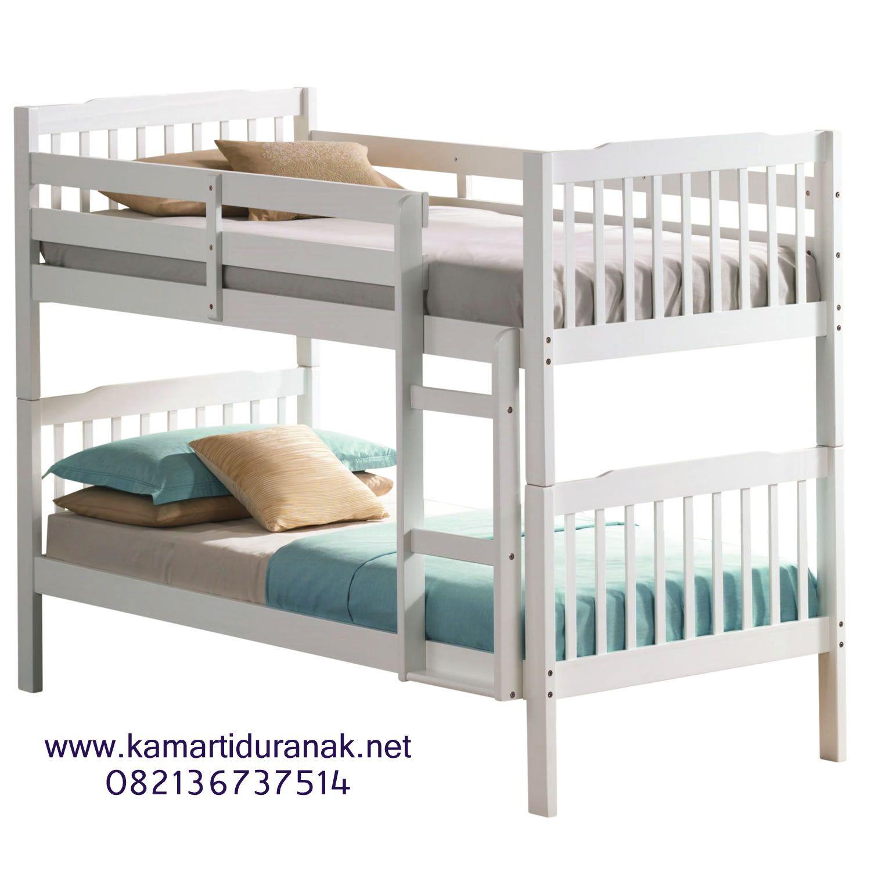 Harga Ranjang Susun Minimalis Kayu Jati Murah Tempat Tidur Susun