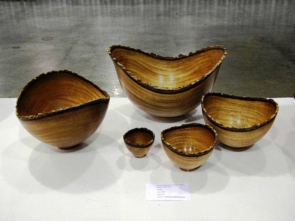 Exotic Wood Natural Edge Bowls By Andy Cole From Honolulu