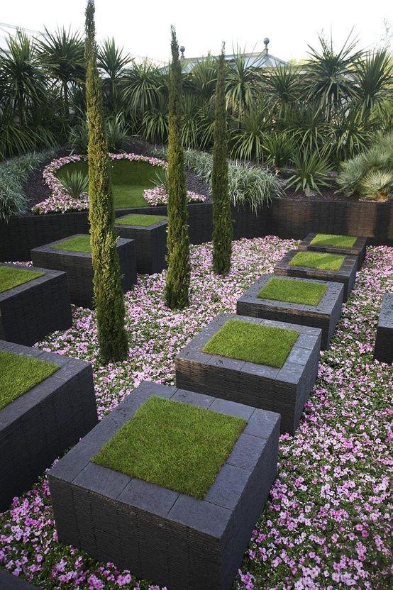 Modern landscape Pinterest Jardines, Jardín y Jardinería - jardines modernos